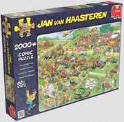 Jan van Haasteren - Rasenmäherrennen - Puzzle 2000 Teile