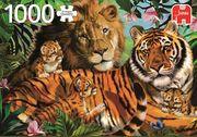 Jumbo Spiele - Generische Puzzle - Wildkatzen, 1000 Teile