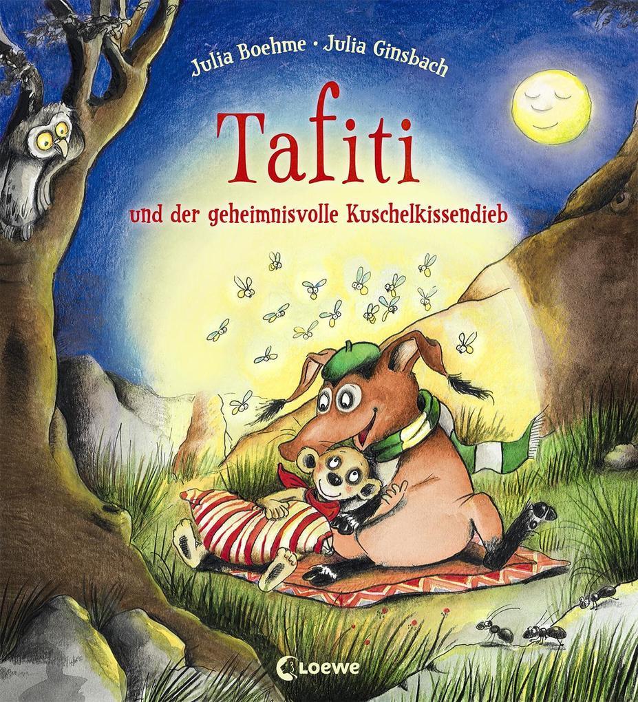Tafiti und der geheimnisvolle Kuschelkissendieb als Buch