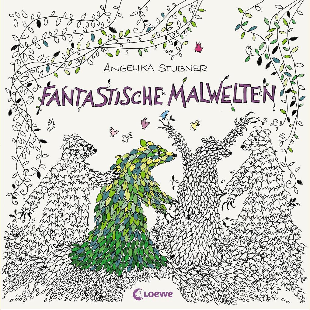 Fantastische Malwelten als Buch von Angelika St...