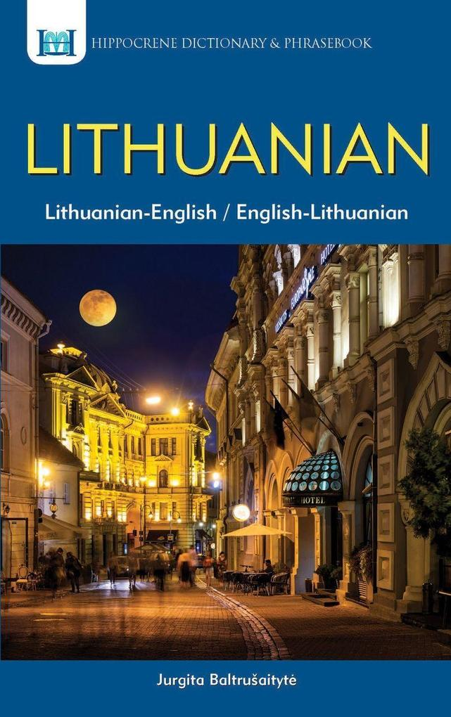 Lithuanian-English, English-Lithuanian Dictionary & Phrasebook als Taschenbuch