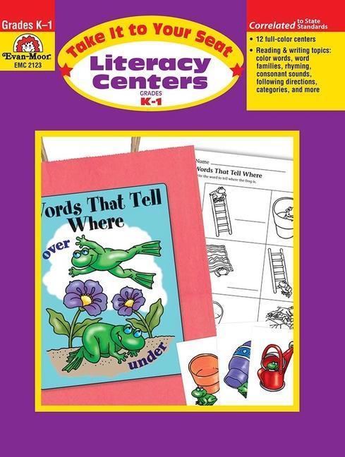 Literacy Centers, Grades K-1 als Taschenbuch