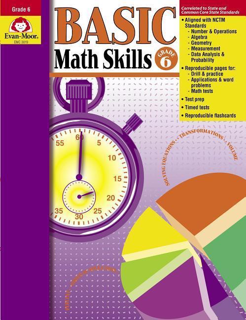 Basic Math Skills Grade 6 als Taschenbuch