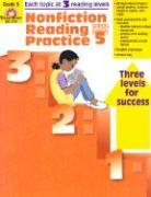 Nonfiction Reading Practice Grade 5 als Taschenbuch