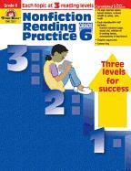 Nonfiction Reading Practice, Grade 6 als Taschenbuch