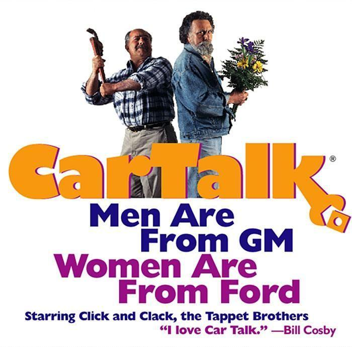 Car Talk: Men Are from Gm, Women Are from Ford als Hörbuch