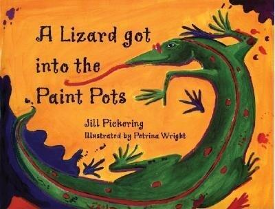 A Lizard Got Into the Paint Pots als Buch