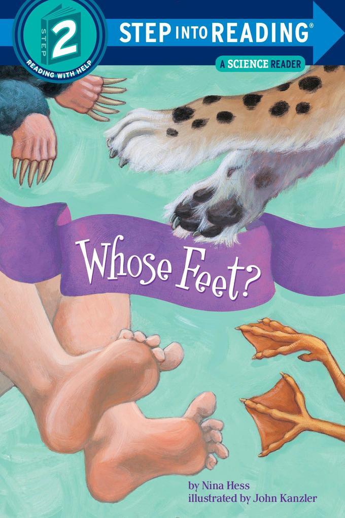 Whose Feet? als Taschenbuch