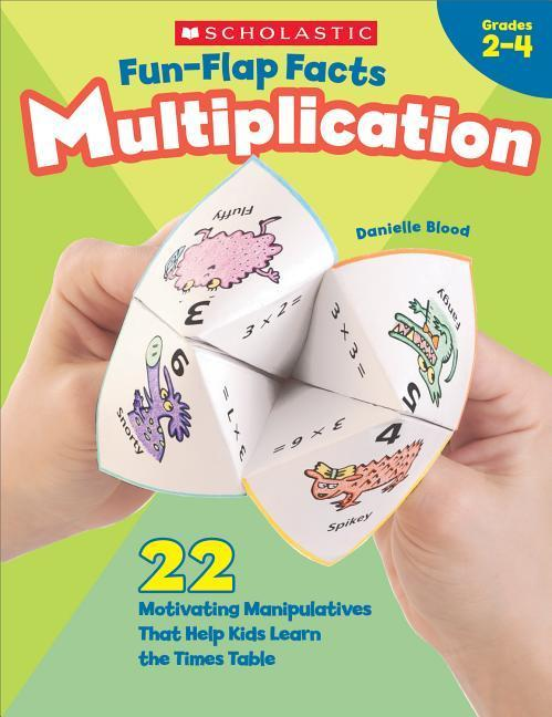 Fun-Flap Facts: Multiplication: 22 Motivating Manipulatives That Help Kids Learn the Times Table als Taschenbuch