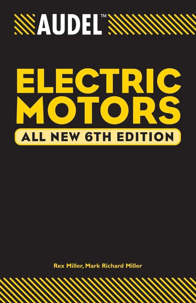 Audel Electric Motors als Taschenbuch