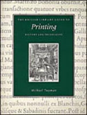 Printing: History and Techniques als Taschenbuch