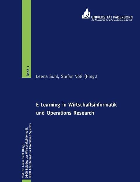 E-Learning in Wirtschaftsinformatik und Operations Research als Buch
