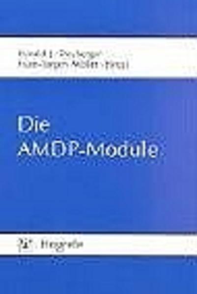 Die AMDP-Module als Buch