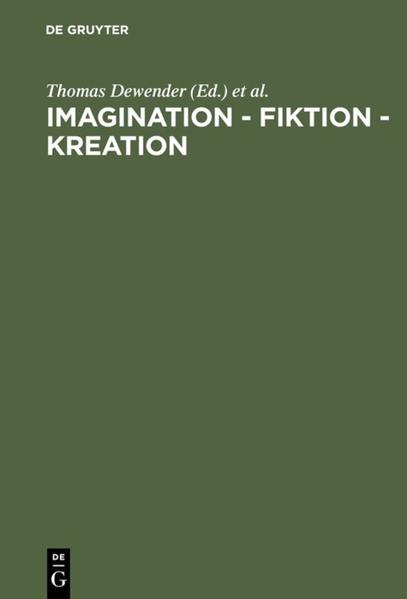 Imagination - Fiktion - Kreation als Buch