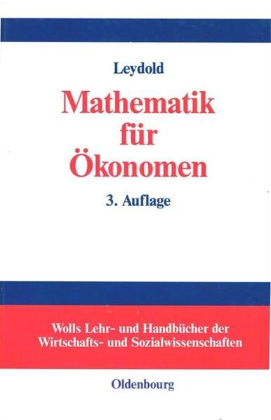 Mathematik für Ökonomen als Buch (gebunden)