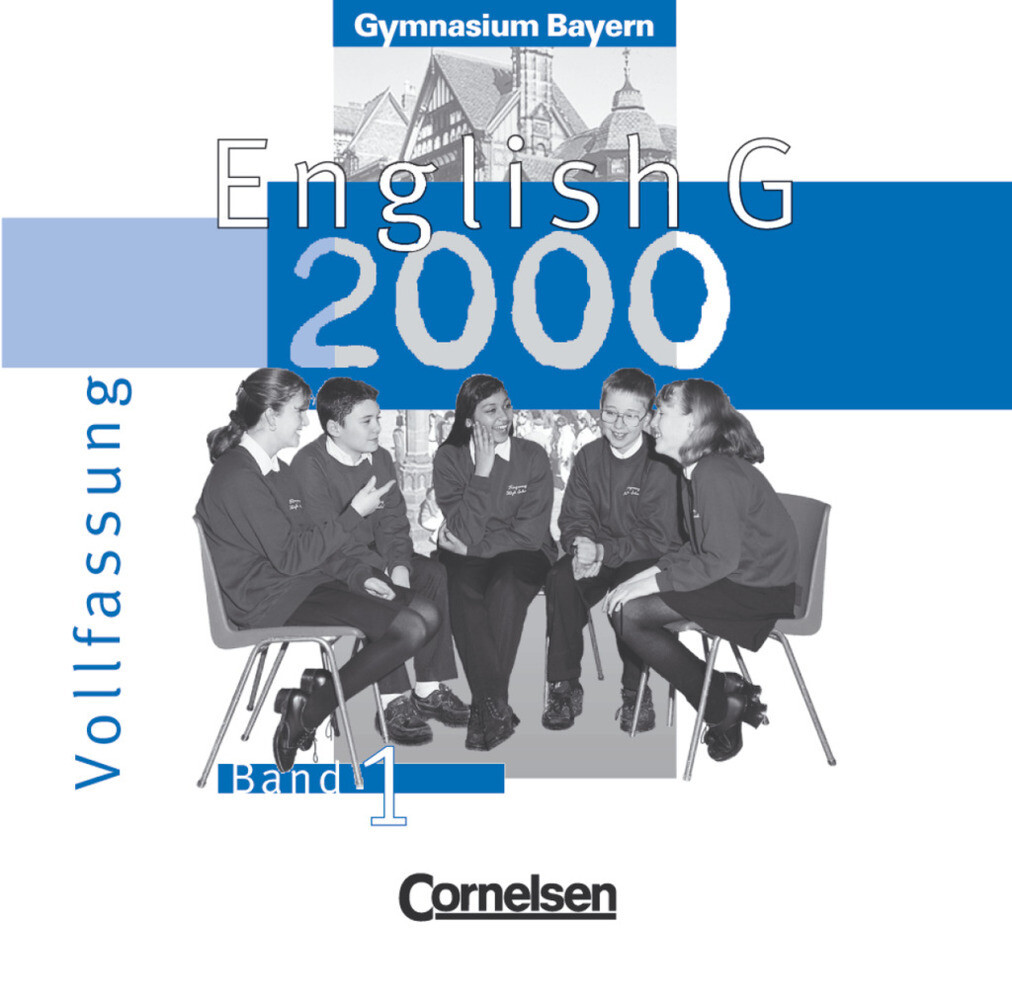 English G 2000 1. Audio-CDs. Bayern als Hörbuch