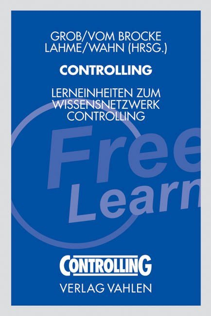Controlling mit Freestyle Learning-Programm als Buch