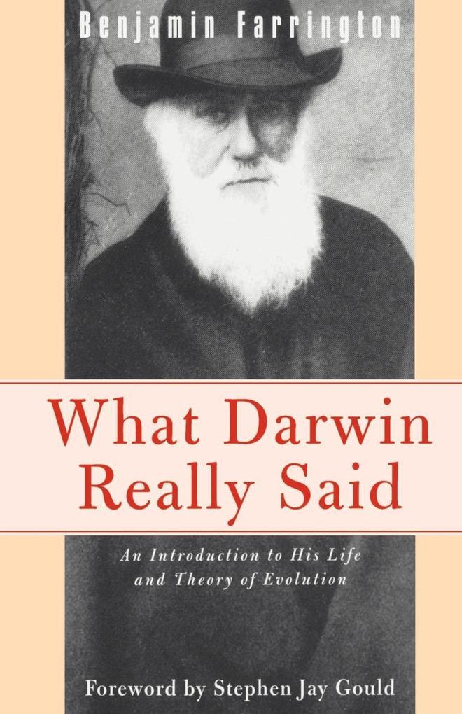 What Darwin Really Said als Taschenbuch