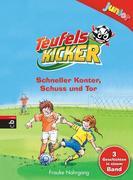 Teufelskicker junior - Schneller Konter, Schuss und Tor