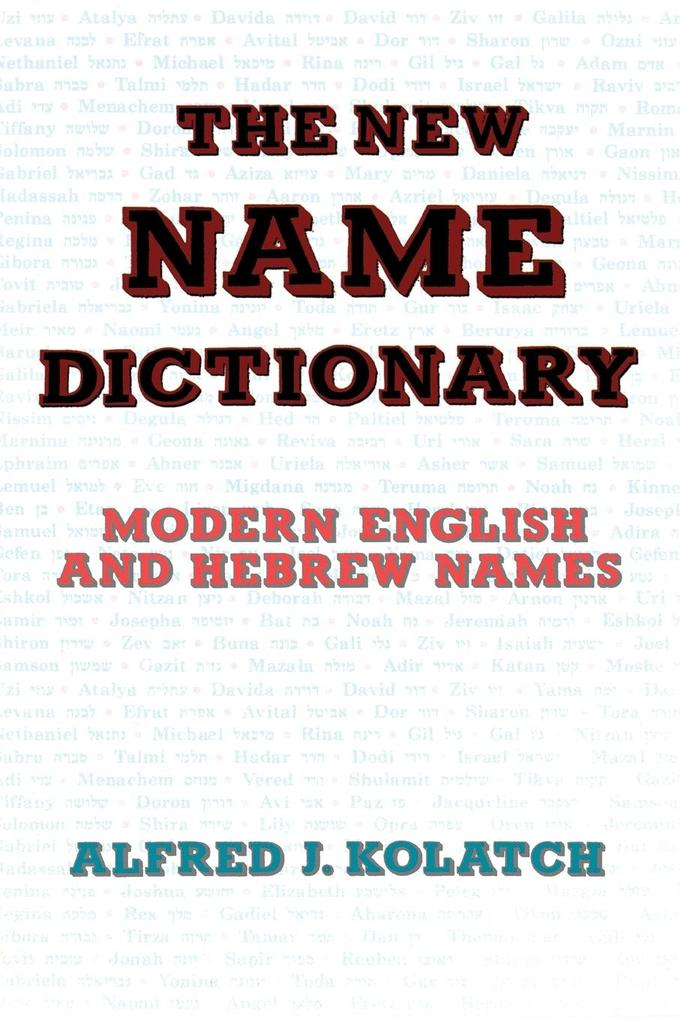THE NEW NAME DICTIONARY als Taschenbuch