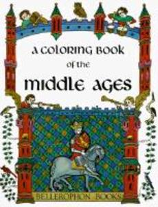 Middle Ages Coloring Book als Taschenbuch