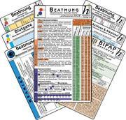 Beatmungs-Karten-Set - professional 2016 (7er-Set) - Medizinische Taschen-Karte