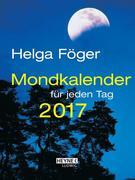 Mondkalender für jeden Tag 2017 Taschenkalender