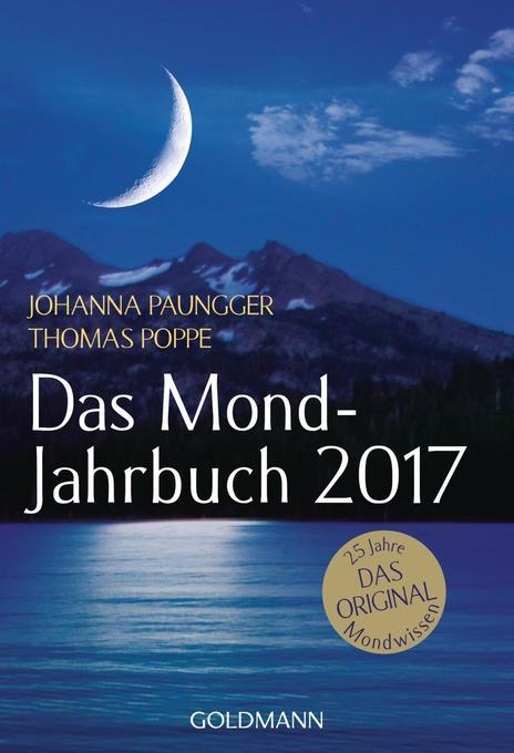 Das Mond-Jahrbuch 2017 als Kalender