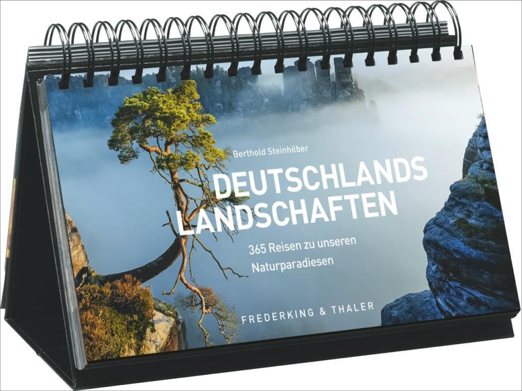 Tischaufsteller - Deutschlands Landschaften als...