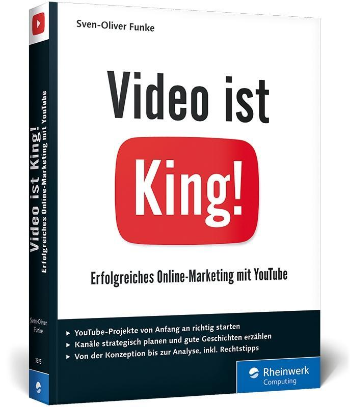Video ist King! als Buch von Sven-Oliver Funke