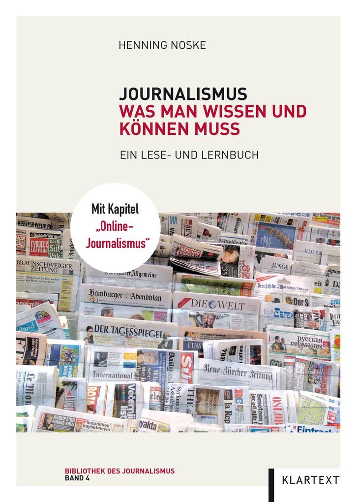 Journalismus als eBook Download von Henning Noske