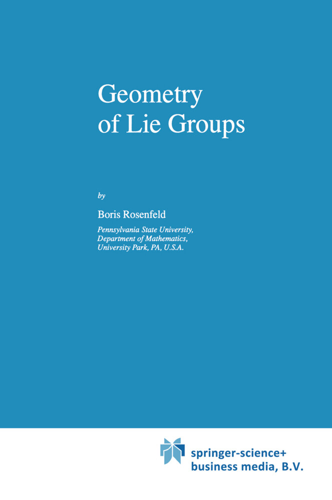 Geometry of Lie Groups als Buch