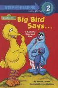 Big Bird Says...a Game