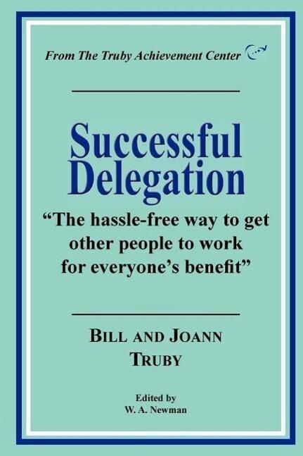 Successful Delegation als Taschenbuch