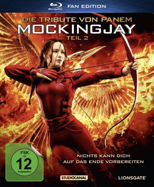 Die Tribute von Panem - Mockingjay Teil 2 / Fan Edition / Blu-ray als DVD