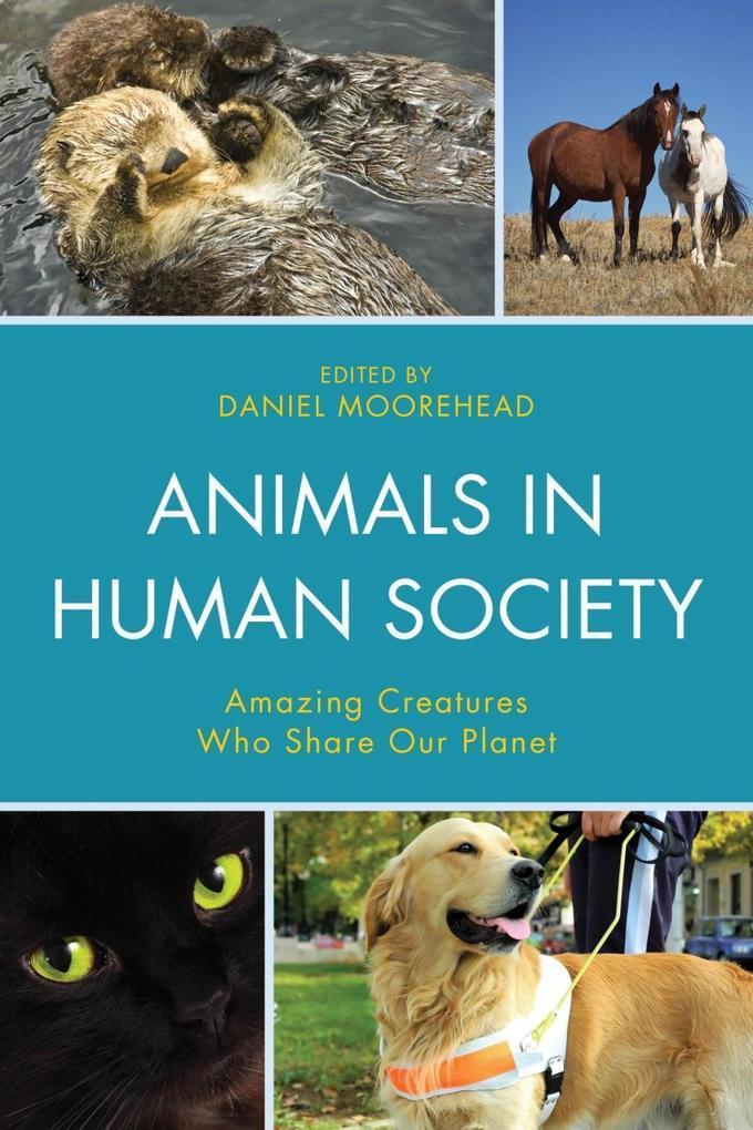 Animals In Human Society als eBook Download von