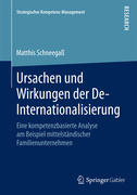 Ursachen und Wirkungen der De-Internationalisierung