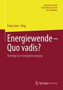 Energiewende - Quo vadis?