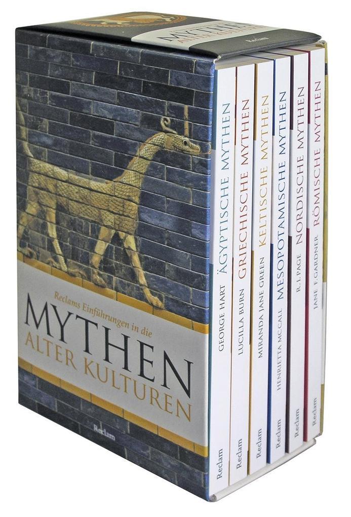 Reclams Einführungen in die Mythologe alter Kulturen. 6 Taschenbücher in Kassette als Taschenbuch