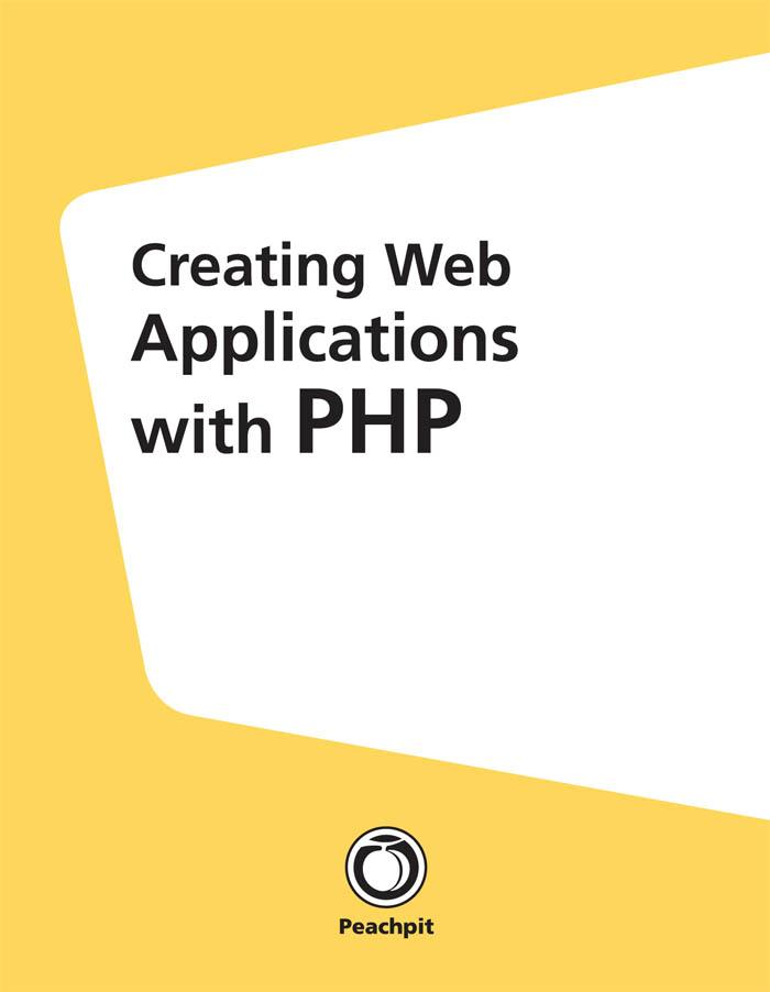 Creating Web Applications with PHP als eBook Do...