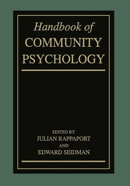 Handbook of Community Psychology als eBook Down...