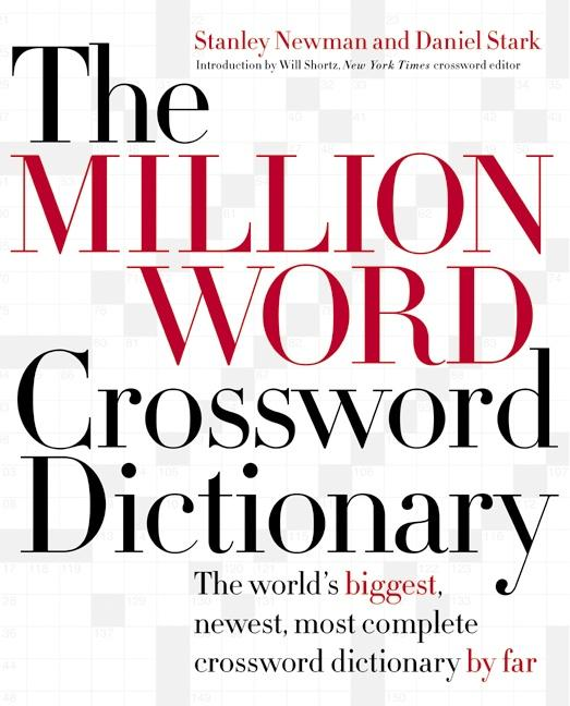 The Million Word Crossword Dictionary als Buch