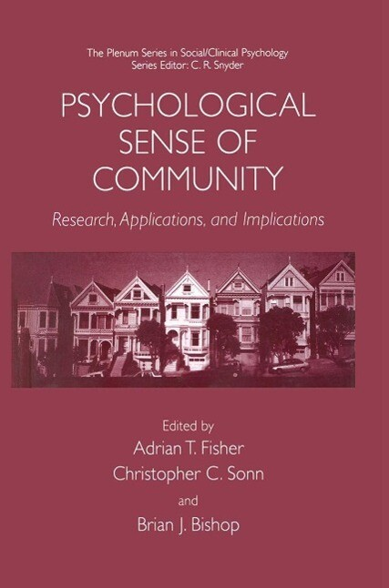 Psychological Sense of Community als eBook Down...