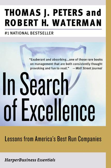 In Search of Excellence als Buch