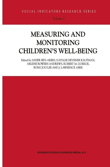 Measuring and Monitoring Children´s Well-Being ...