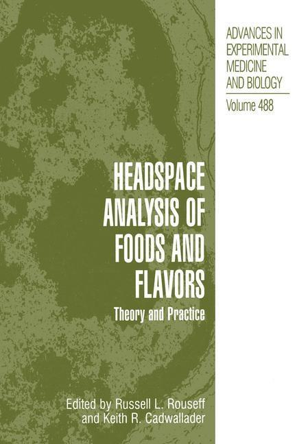 Headspace Analysis of Foods and Flavors als eBo...