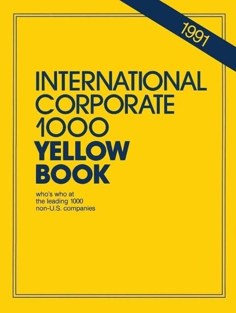 International Corporate 1000 Yellow Book als eB...