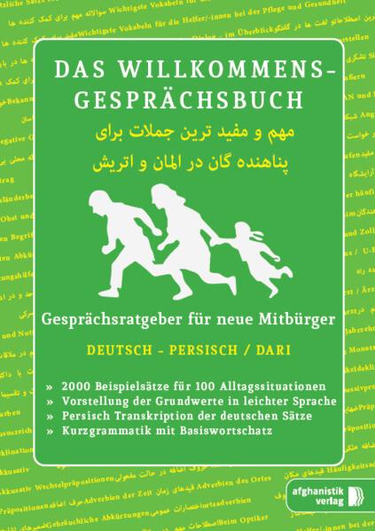 Das Willkommens- Gesprächsbuch Deutsch - Afghanisch / Dari als Buch