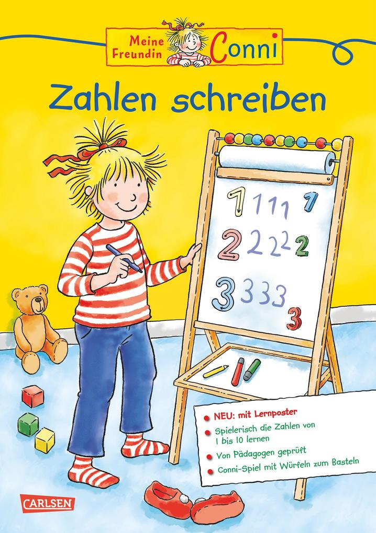 Conni Gelbe Reihe: Zahlen schreiben Extra als Buch (kartoniert)