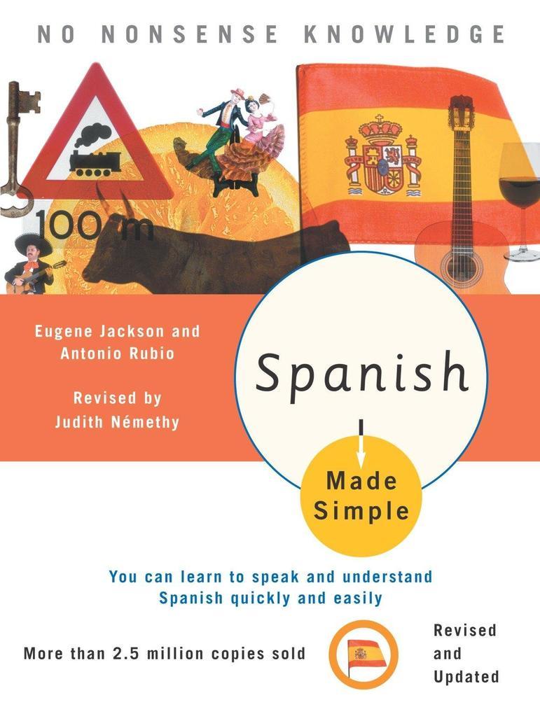 Spanish Made Simple als Taschenbuch